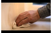 How to cover up damp & water stains