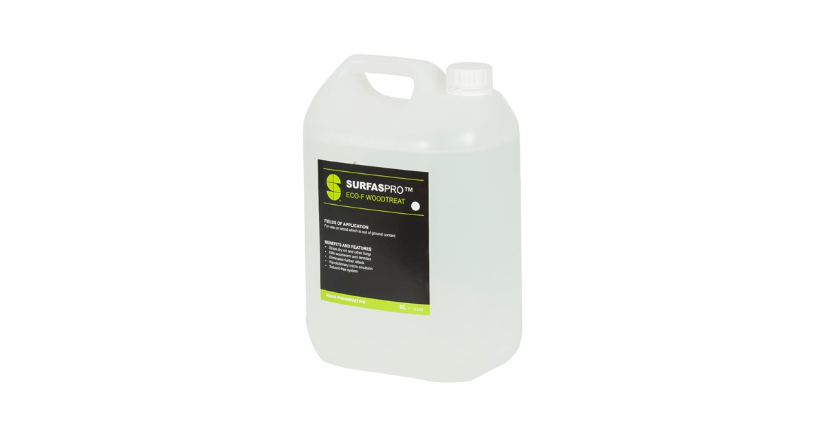 IBC Eco-Friendly Wood Preservative - 5 Litre | Fence & Shed
