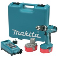 Makita  8391DWPETK Combi Drill with 101 Piece Kit- 18V