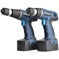 Einhell  BT-CD18 Cordless Drill Twin Pack - 18V