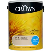 Crown  Matt Colours Paint - 5 Litre