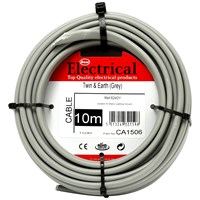 Best Electrical  Twin & Earth Grey Wiring Cable - 2.5mm