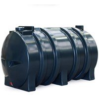 Kingspan Titan  Single Skin Horizontal Oil Tank - 1,100 Litre