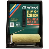 Fleetwood  Exterior Masonry 9in Paint Roller & Tray Set