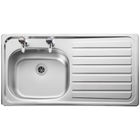 Leisure Lexin Kitchen Sink Left Hand - LE95