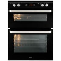 Beko  Built-in Electric Double Oven Black - ODF21300