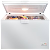 Beko  Freestanding 360 Litre Chest Freezer White - CF1300AP