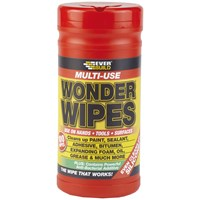 Everbuild  Multi-Use Wonder Wipes - 100 Wipe Tub