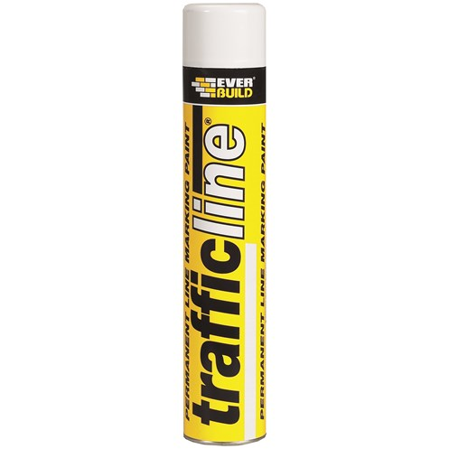 Everbuild  Trafficline Paint 700ml - White