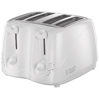 Russell Hobbs  4 Slice Cool Wall Toaster - White