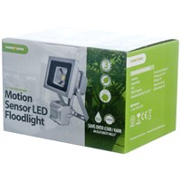 Powermaster  Motion Sensor LED Floodlight - 10W