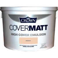 Crown  Covermatt Magnolia Paint - 10 Litre