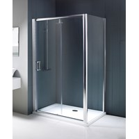 Flair Chianti Frameless Shower Enclosure Side Panel