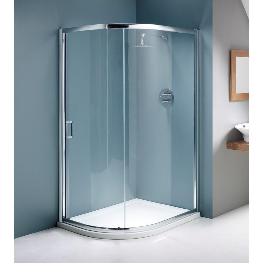 Flair Single Door Quadrant Shower Enclosure | Shower Doors | Joe ...