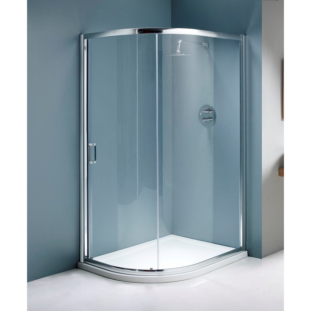 Flair Single Door Offset Quadrant Shower Enclosure | Shower Doors ...