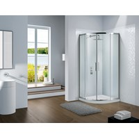 Flair Slimline Capella Curved Quadrant 1000mm