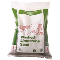 N&C  White Limestone Sand - 0-2mm