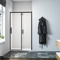 Merlyn  Black Sliding Door
