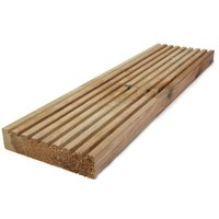 Independent Fencing  Pressure Treated Timber Garden Decking - 4.8m x 150 x 35mm