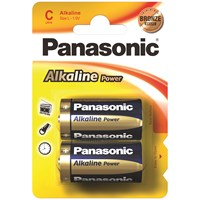 Panasonic  Alkaline Power Batteries - C