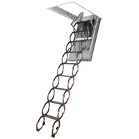Fakro  LSF 1 Hour Fire Rated Metal Scissors Ladder - 3m