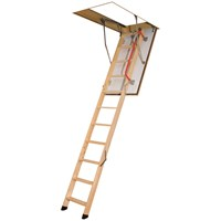Fakro  LWF 30min Fire Rated Folding Attic Ladder - 3.05m