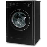 Indesit  Black Vented Tumble Dryer - IDV75BK