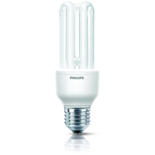 Philips Genie E27 Energy Saver Stick Light Bulb - 14W